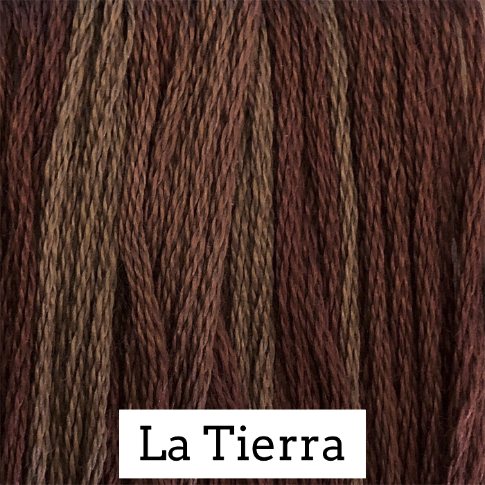 La Tierra Classic Colorworks 6 Strand Hand-Dyed Embroidery Floss