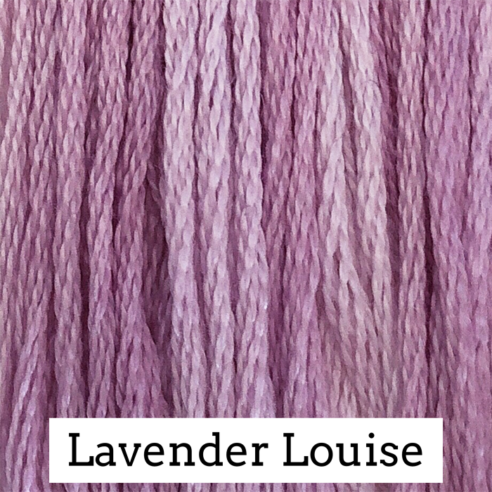 Lavender Louise Classic Colorworks 6 Strand Hand-Dyed Embroidery Floss