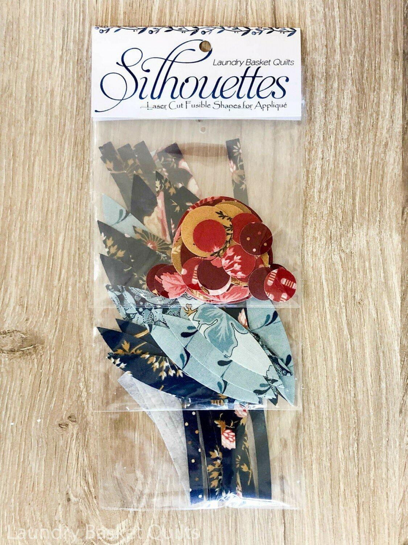 Super Bloom Silhouettes - Fusible Applique