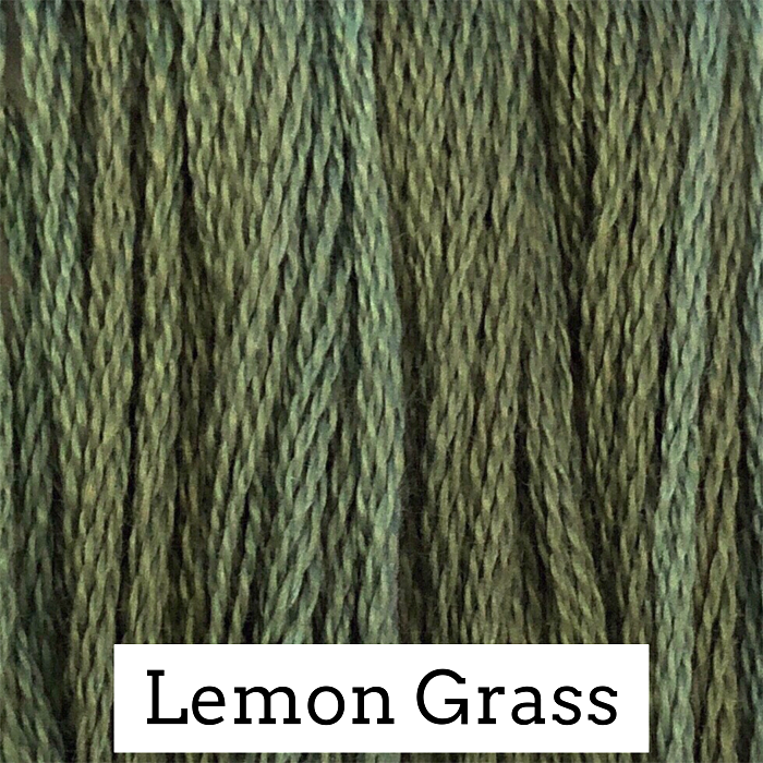 Lemon Grass Classic Colorworks 6 Strand Hand-Dyed Embroidery Floss