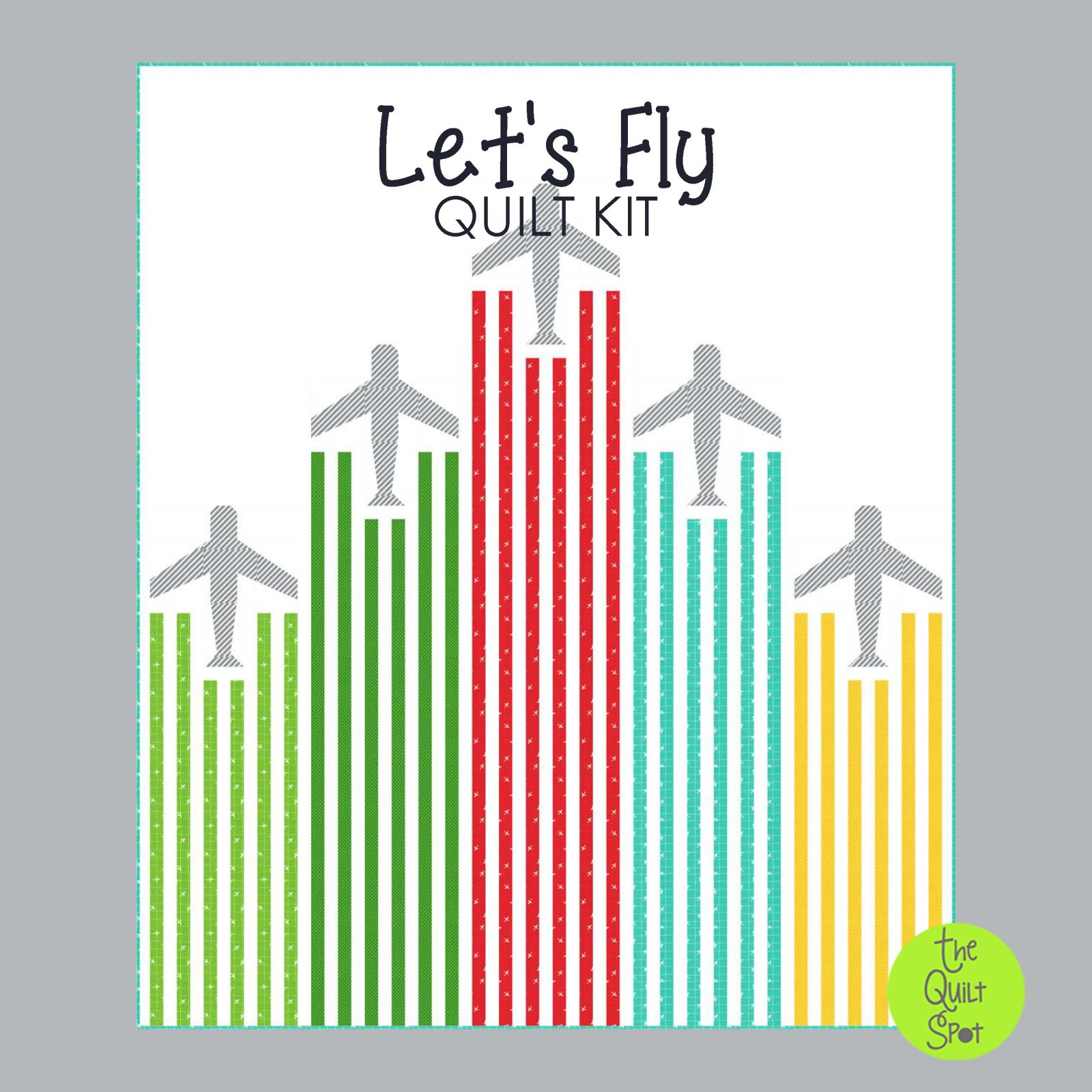 Let's Fly Quilt Kit featuring On The Go Fabric by Stacy Iest Hsu