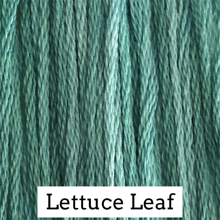 Lettuce Leaf Classic Colorworks 6 Strand Hand-Dyed Embroidery Floss