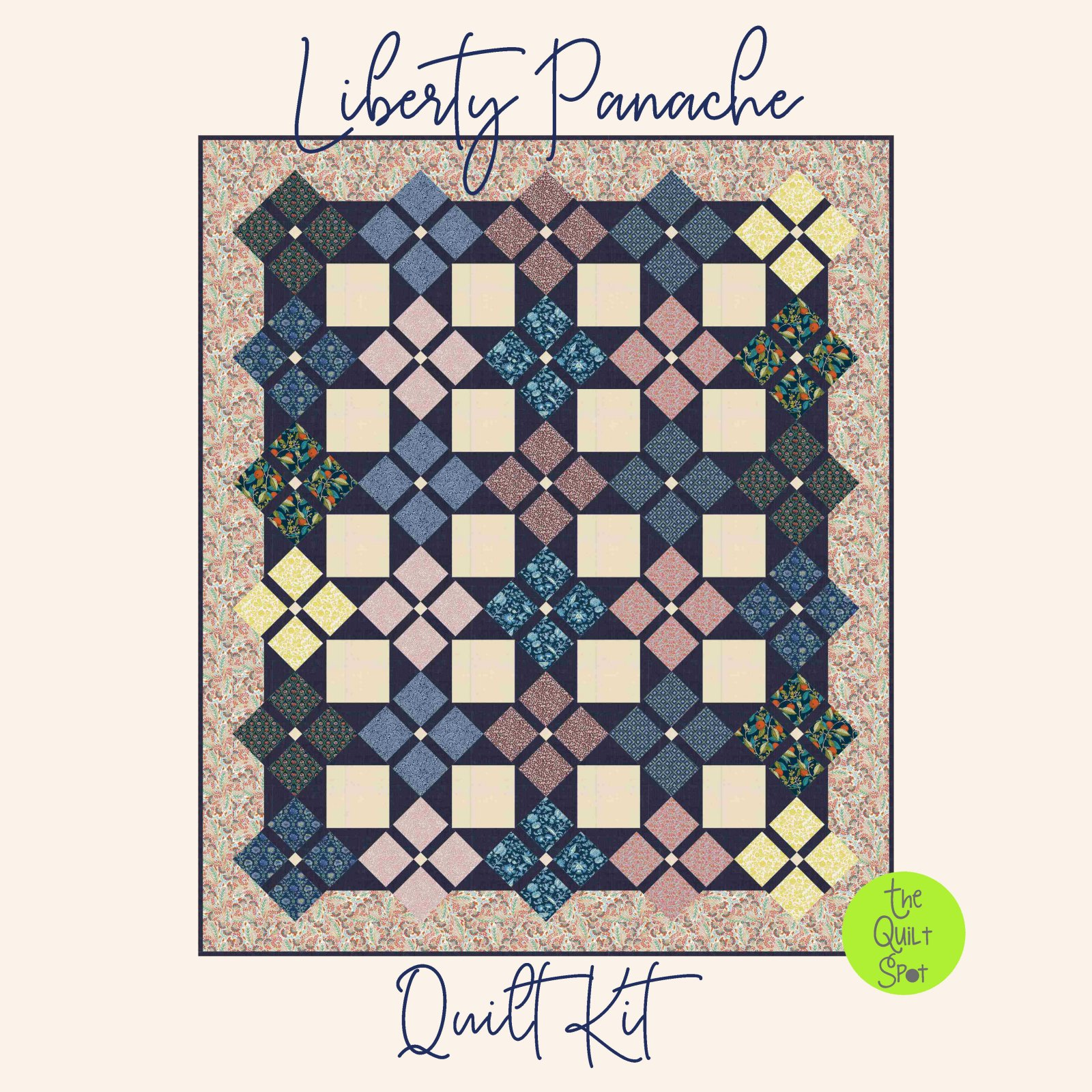 Liberty of London Quilt Kit - Panache