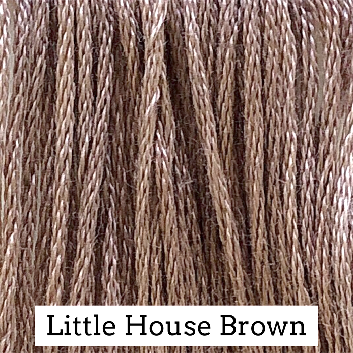Little House Brown Classic Colorworks 6 Strand Hand-Dyed Embroidery Floss