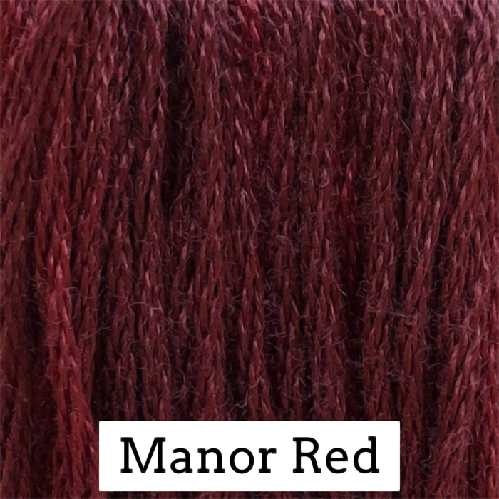 Manor Red Classic Colorworks 6 Strand Hand-Dyed Embroidery Floss