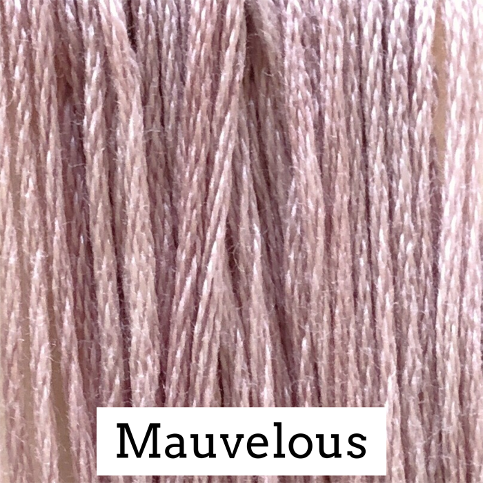 Mauvelous Classic Colorworks 6 Strand Hand-Dyed Embroidery Floss