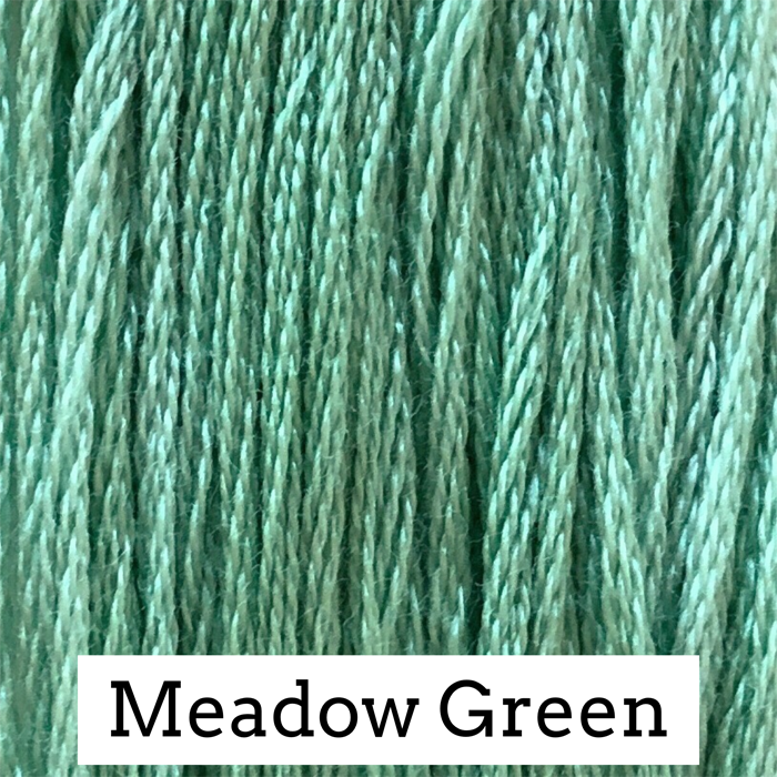 Meadow Green Classic Colorworks 6 Strand Hand-Dyed Embroidery Floss