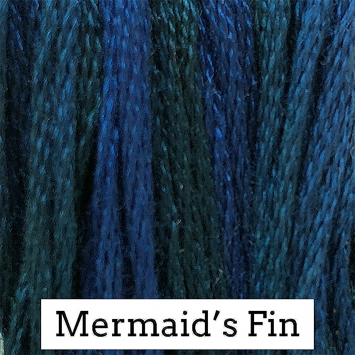 Mermaid's Fin Classic Colorworks 6 Strand Hand-Dyed Embroidery Floss