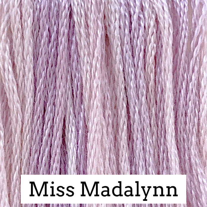 Miss Madalynn Classic Colorworks 6 Strand Hand-Dyed Embroidery Floss