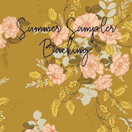 Summer Sampler Backing Set