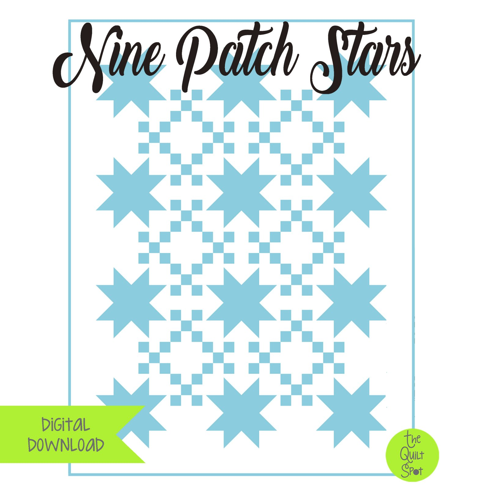 Nine Patch Stars Digital Download