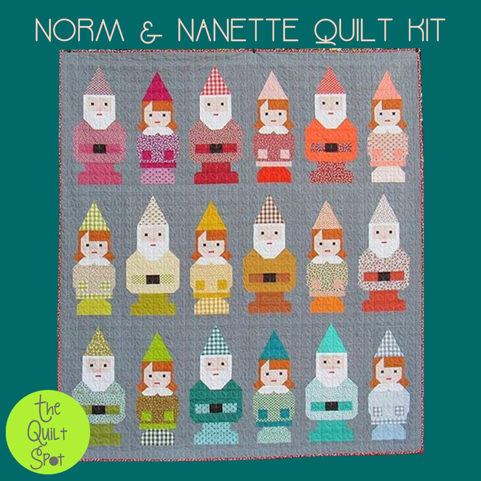 Norm & Nanette Quilt Kit
