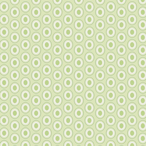Oval Elements in Sugar Green by AGF
