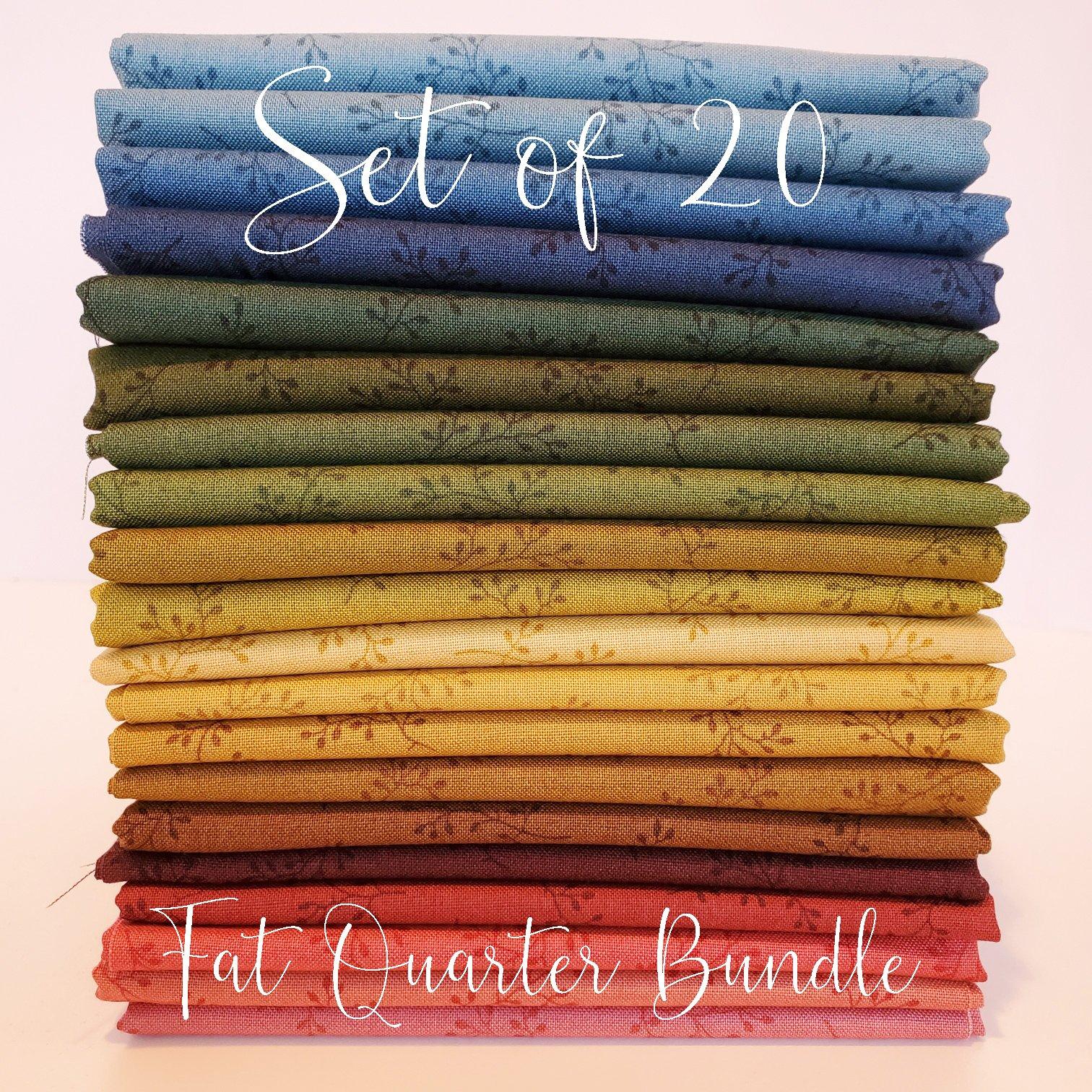 Olive Branch Fat Quarter Bundle -  Fat Quarter Bundle of 20