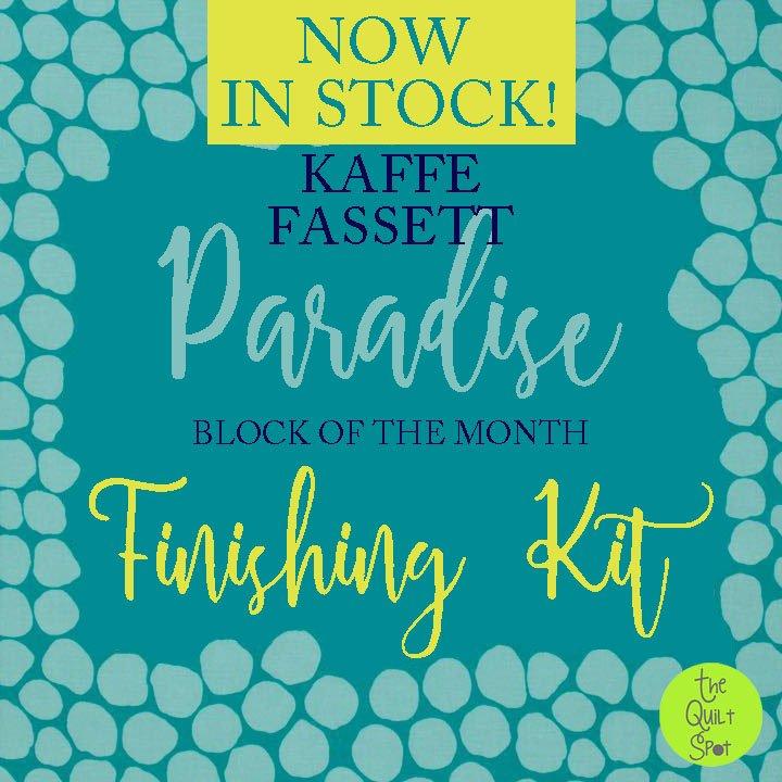 Kaffe Fassett Paradise Finishing Kit