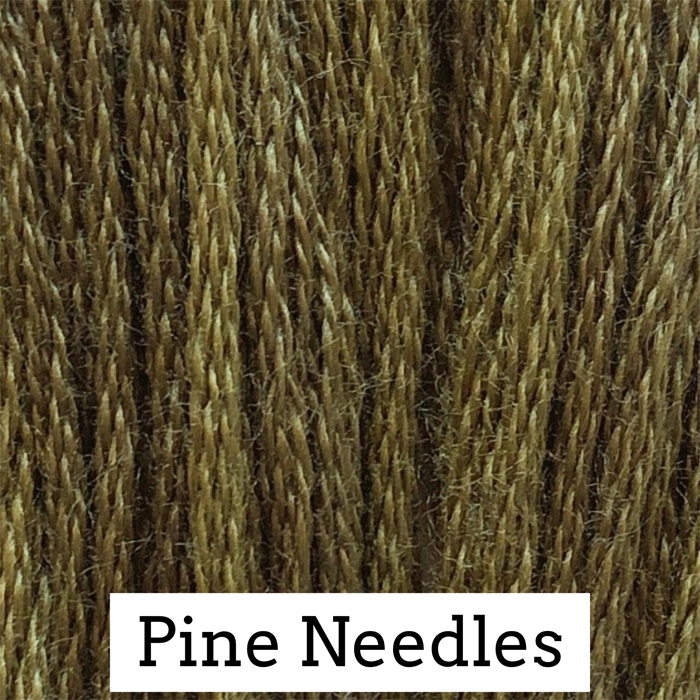 Pine Needles Classic Colorworks 6 Strand Hand-Dyed Embroidery Floss