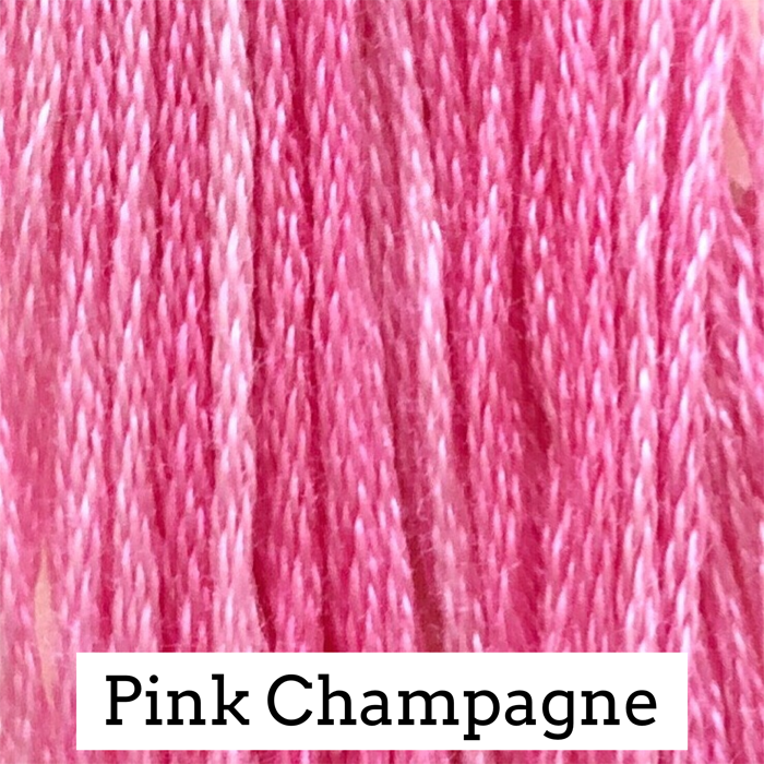 Pink Champagne Classic Colorworks 6 Strand Hand-Dyed Embroidery Floss