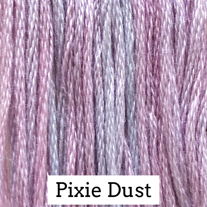 Pixie Dust Classic Colorworks 6 Strand Hand-Dyed Embroidery Floss