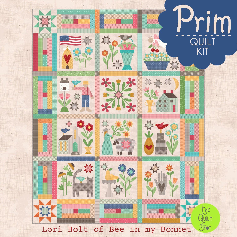 Prim Quilt Kit - Lori Holt