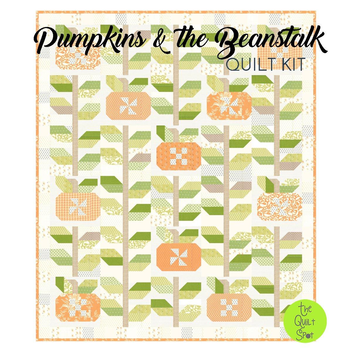 Pumpkins & the Beanstalk Quilt Kit
