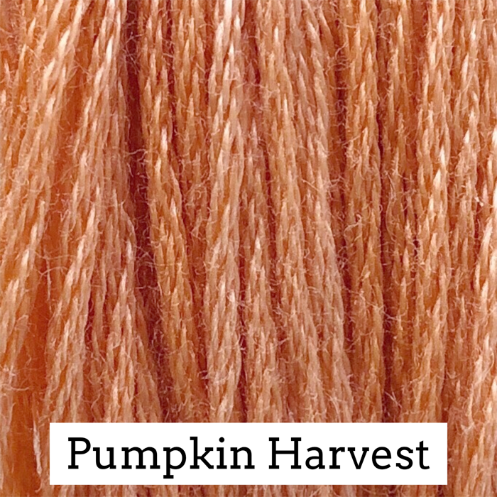 Pumpkin Harvest Classic Colorworks 6 Strand Hand-Dyed Embroidery Floss