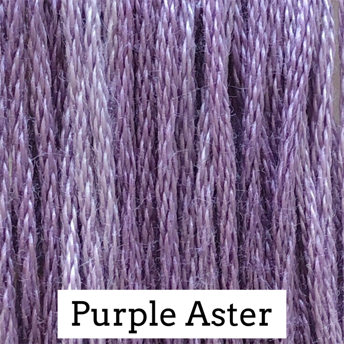 Purple Aster Classic Colorworks 6 Strand Hand-Dyed Embroidery Floss