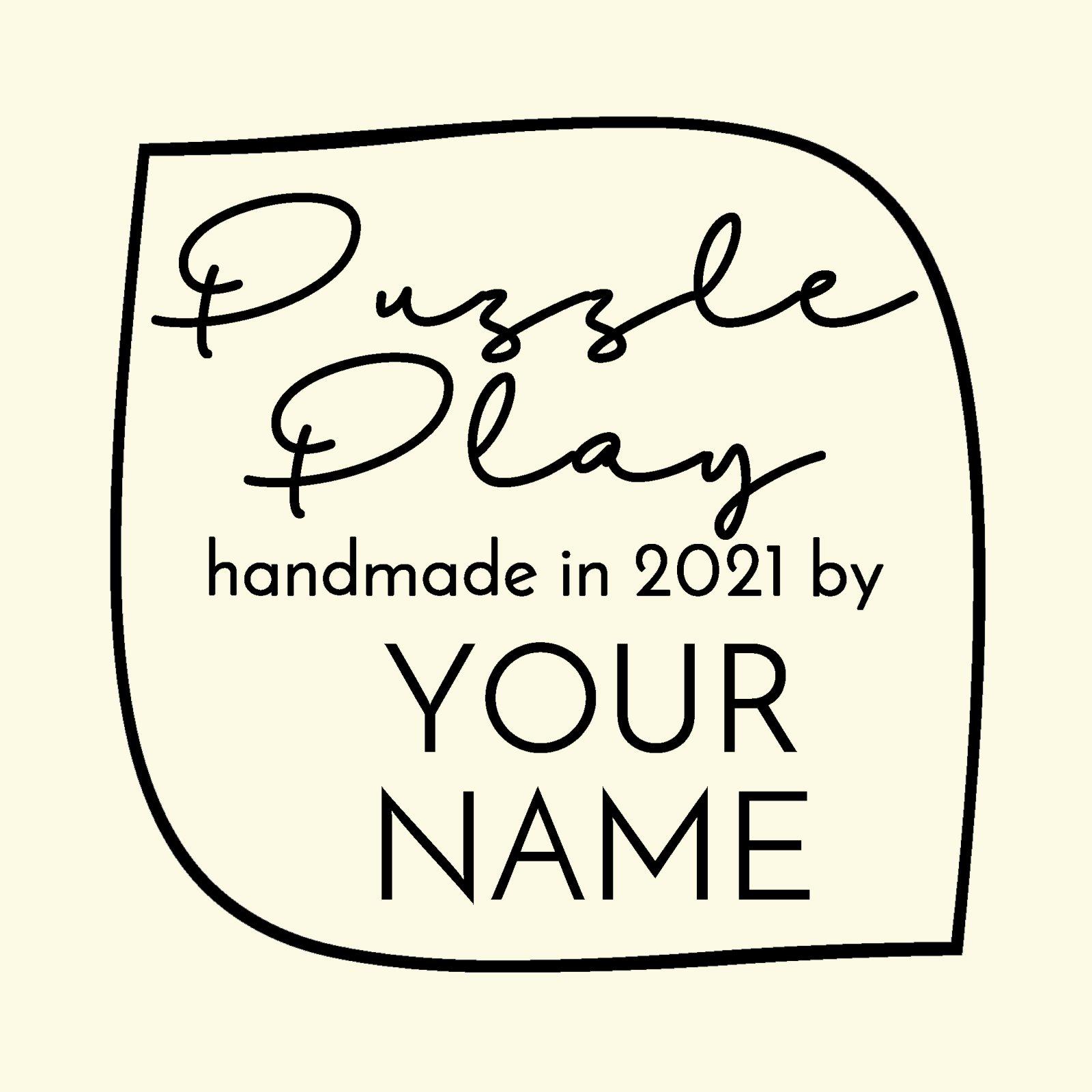Puzzle Play Custom Label