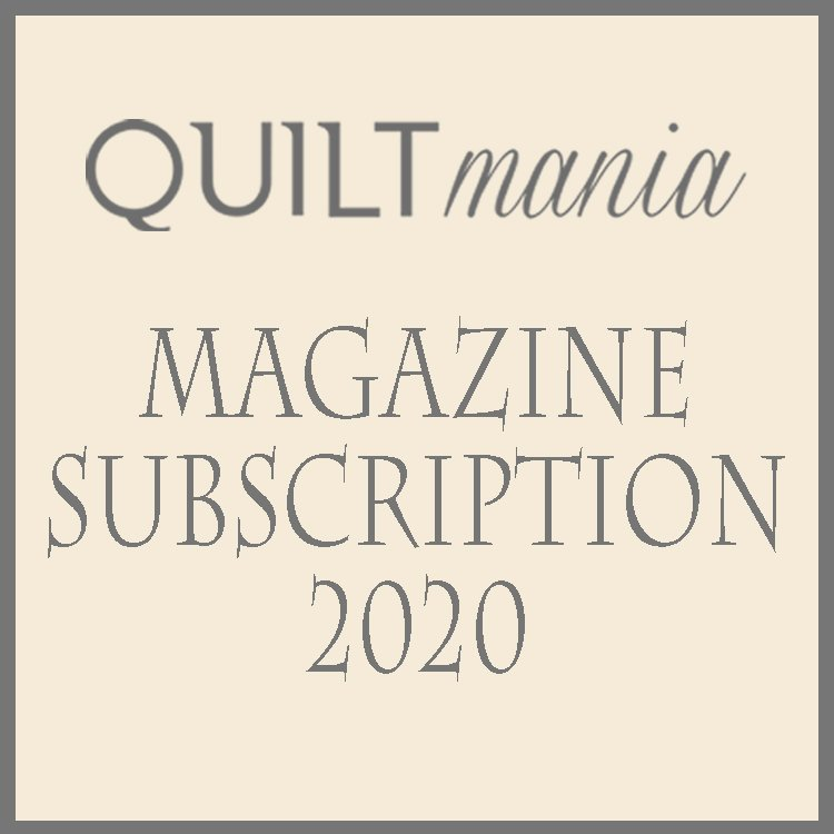Sarah Maxwell Swivel - Quiltmania Mystery Quilt - 1 Year Subscription