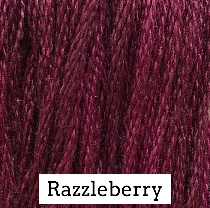 Razzleberry Classic Colorworks 6 Strand Hand-Dyed Embroidery Floss