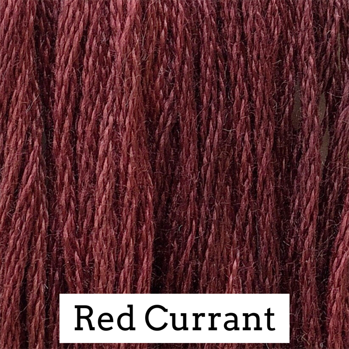 Red Currant Classic Colorworks 6 Strand Hand-Dyed Embroidery Floss