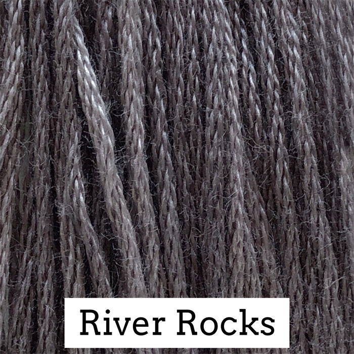 River Rocks Classic Colorworks 6 Strand Hand-Dyed Embroidery Floss