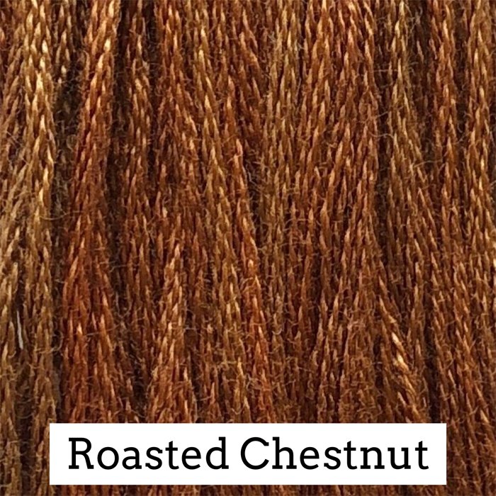 Roasted Chestnut Classic Colorworks 6 Strand Hand-Dyed Embroidery Floss