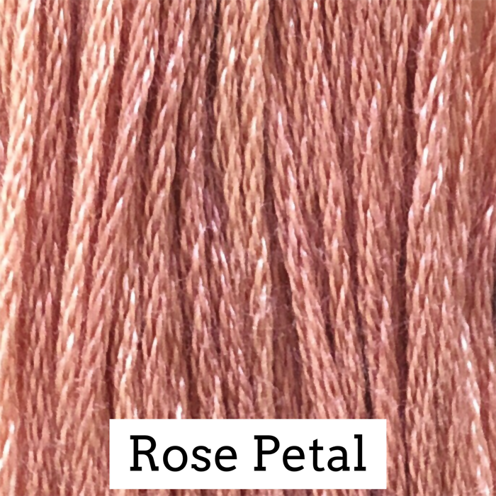 Rose Petal Classic Colorworks 6 Strand Hand-Dyed Embroidery Floss