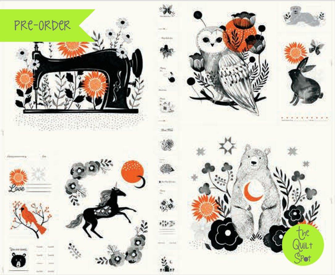 Crescent Panel by Sarah Watts - White