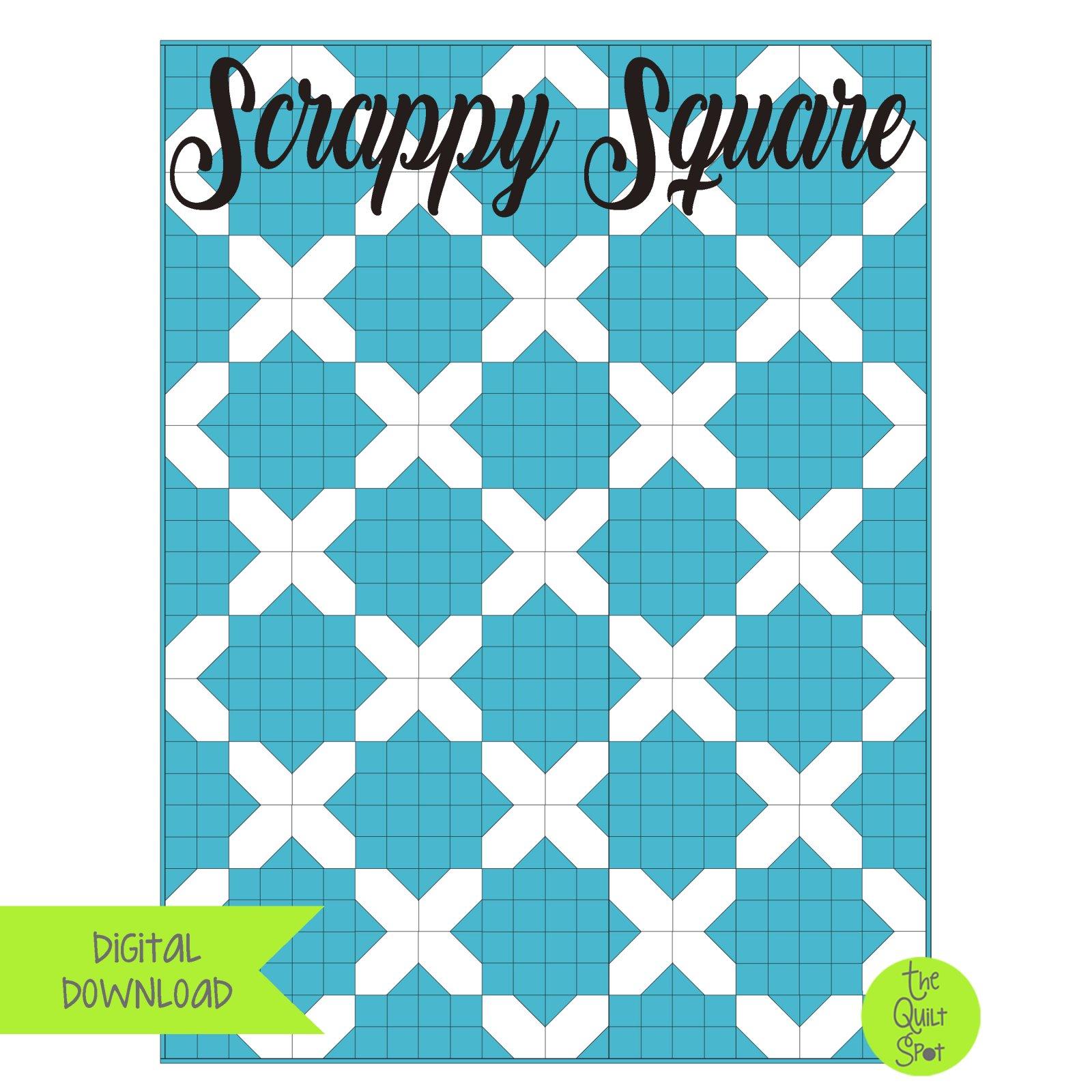 Scrappy Square Digital Download