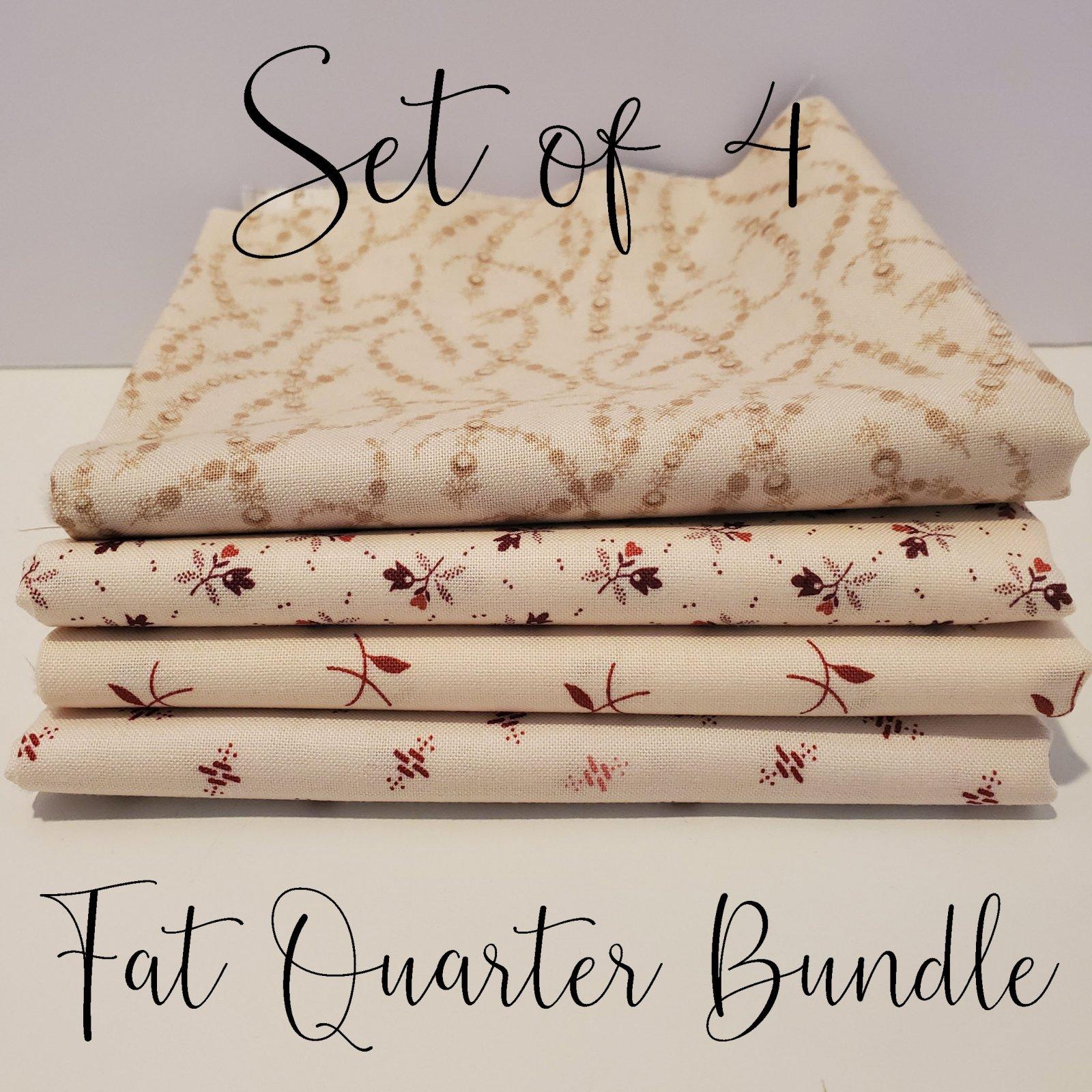 Laundy Basket Quilts Low Volume - 4 Fat Quarter Bundle