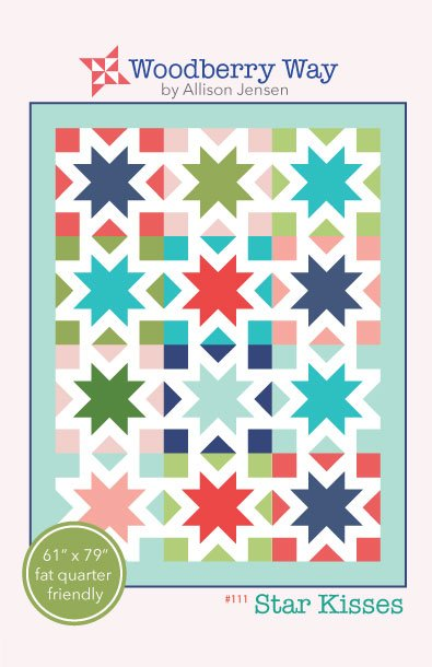 Star Kisses Quilt Pattern by Woodberry Way