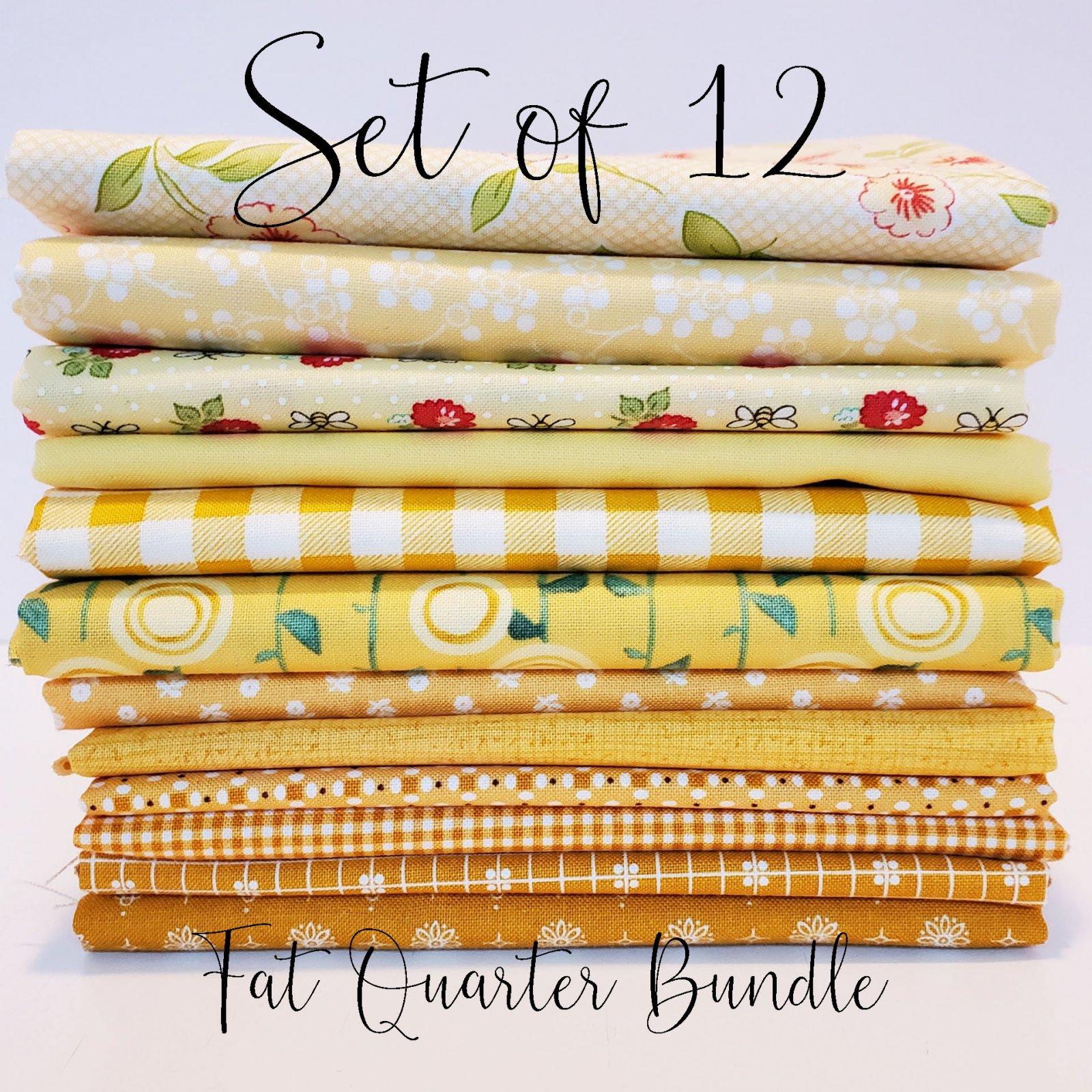 Sunshine Yellows - 12 Fat Quarter Bundle