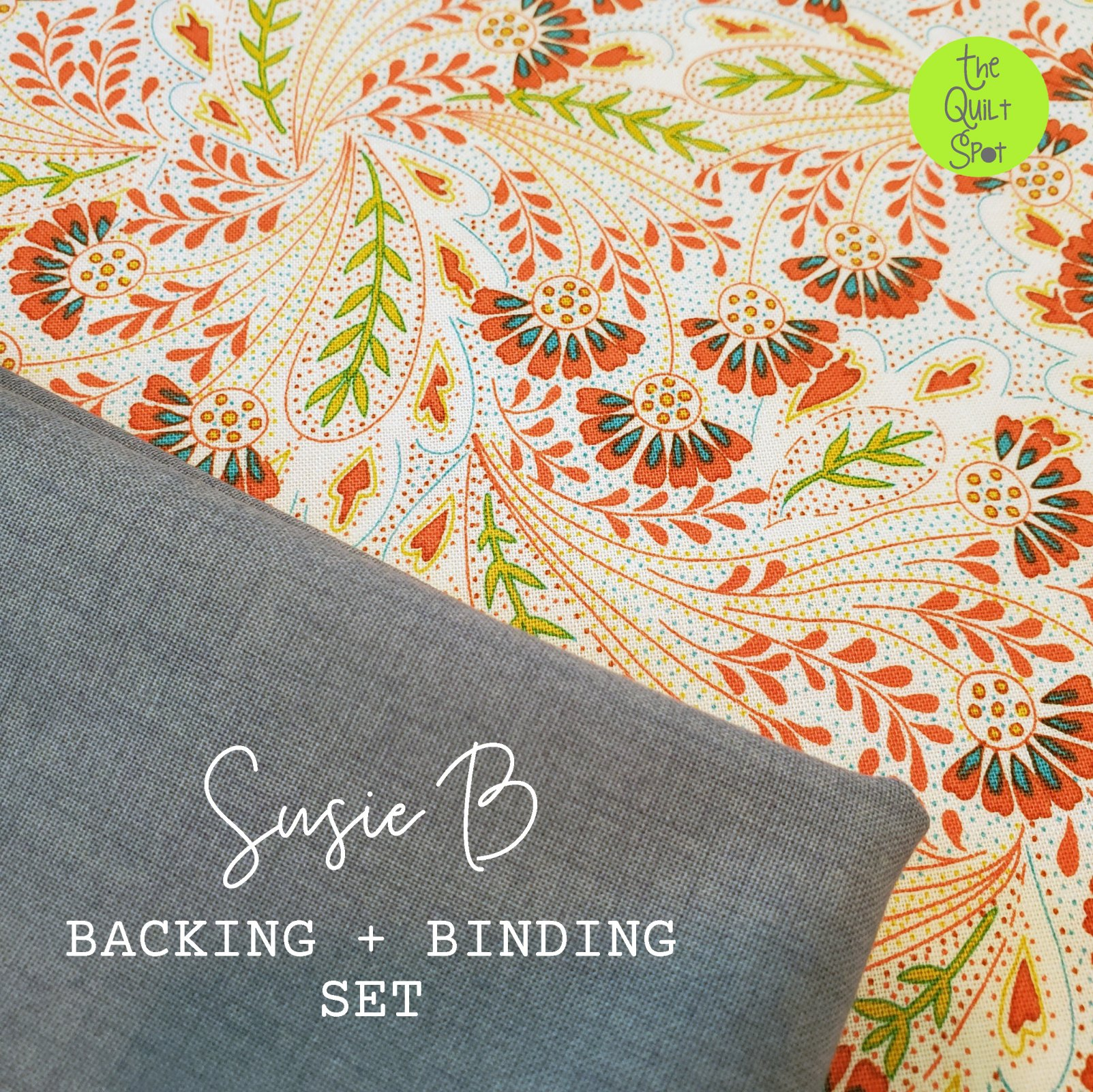 Susie B Backing & Binding Kit