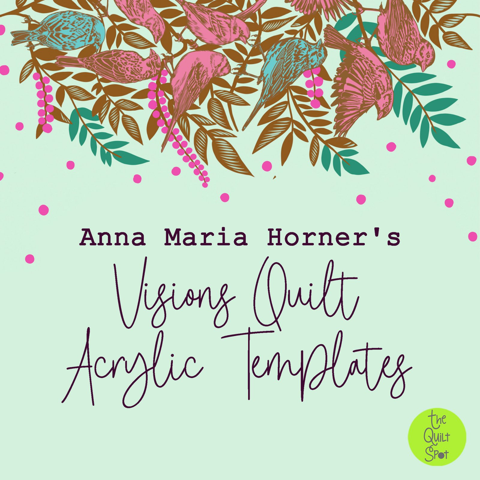 Anna Maria Horner's Vision Quilt Acrylic Templates Only