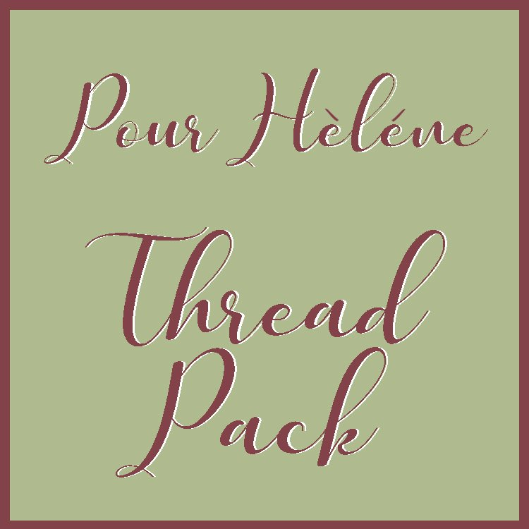 Pour Helene - Quilt Mania Mystery Quilt 2021 - Thread Pack Part 3