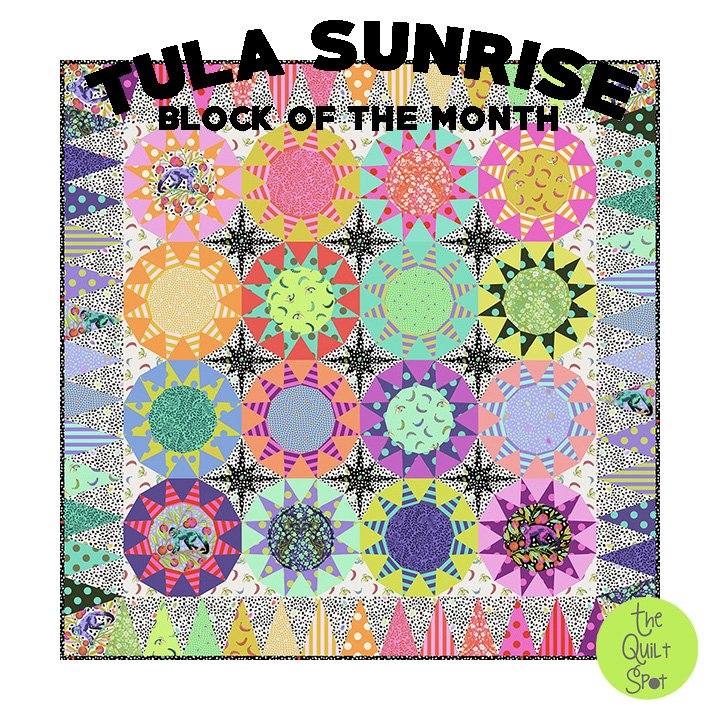 Tula Pink Tula Sunrise Block of the Month
