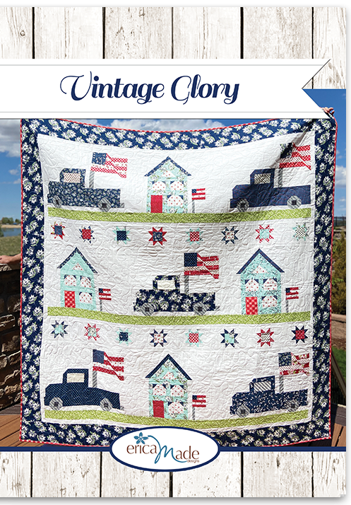 Vintage Glory Quilt Pattern by Erica Made Designs