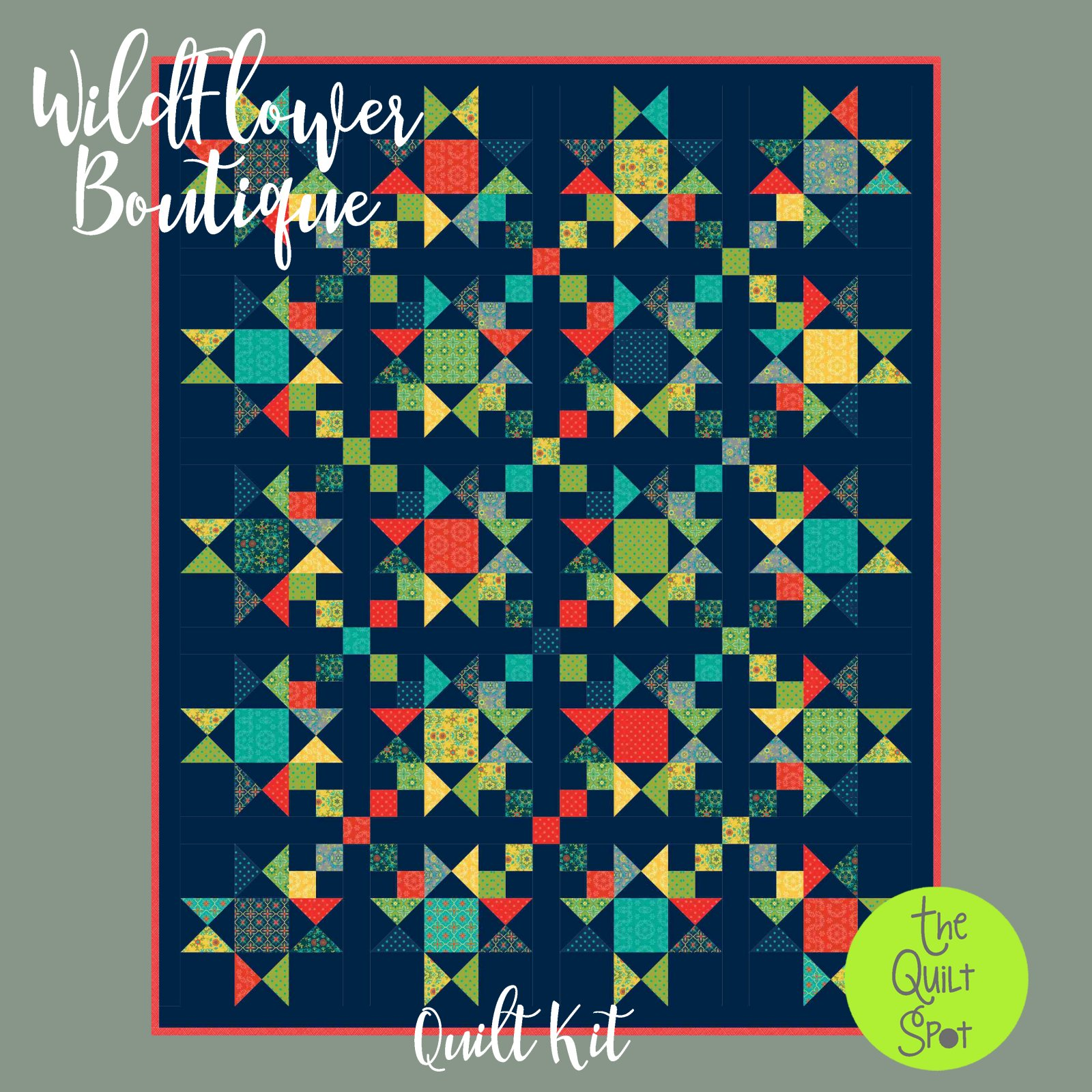 Wildflower Boutique Quilt Top Kit