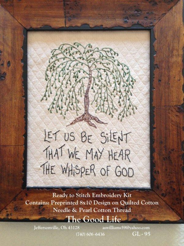 Let Us Be Silent GL-95