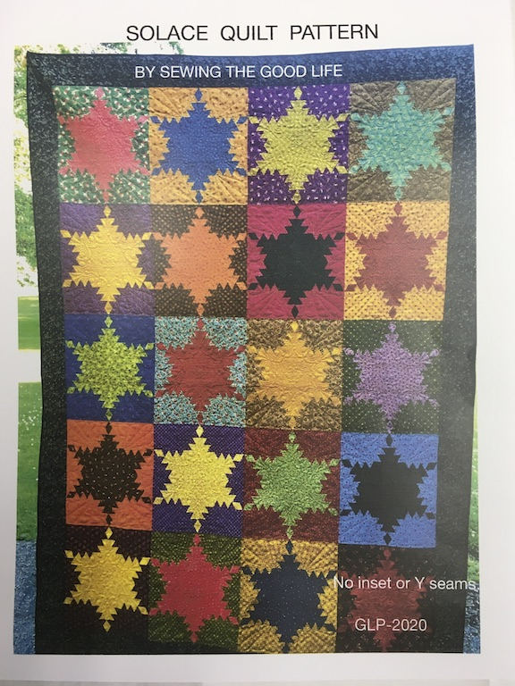 Solace Quilt Pattern with PaperTemplates GLP-2020