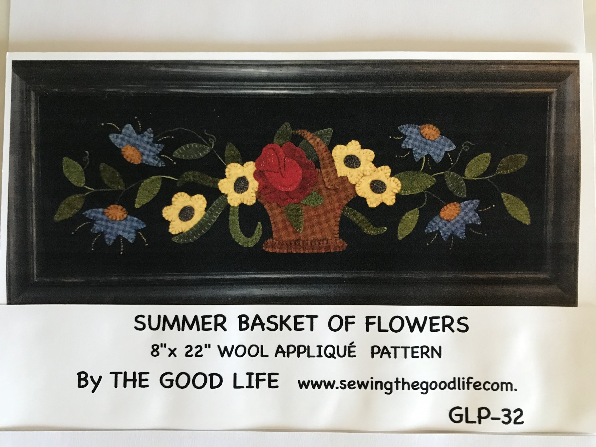 Summer Basket of Flowers GLP-32