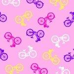 Comfy Flannel Pink Bikes