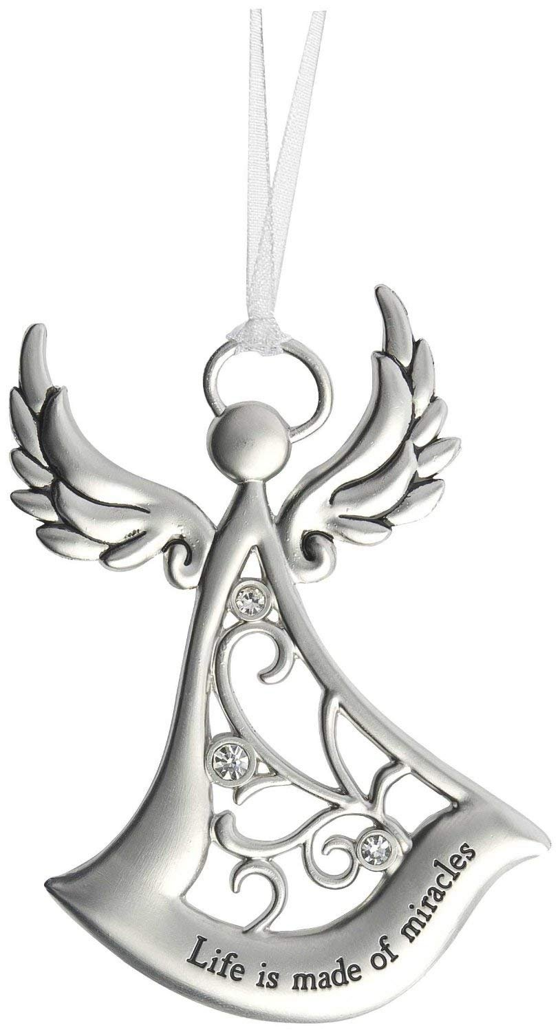 Life is made of miracles Angel Ornament
