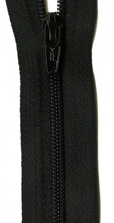 Basic Black - 14 YKK Zipper
